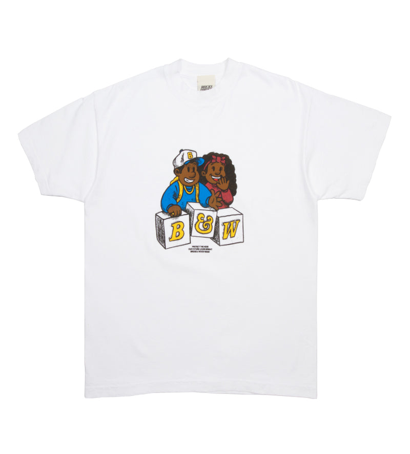Protect The Kids Tee (White)