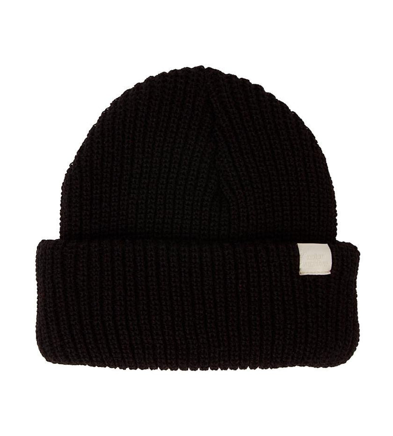 Color Archive Essential Beanie (Black)