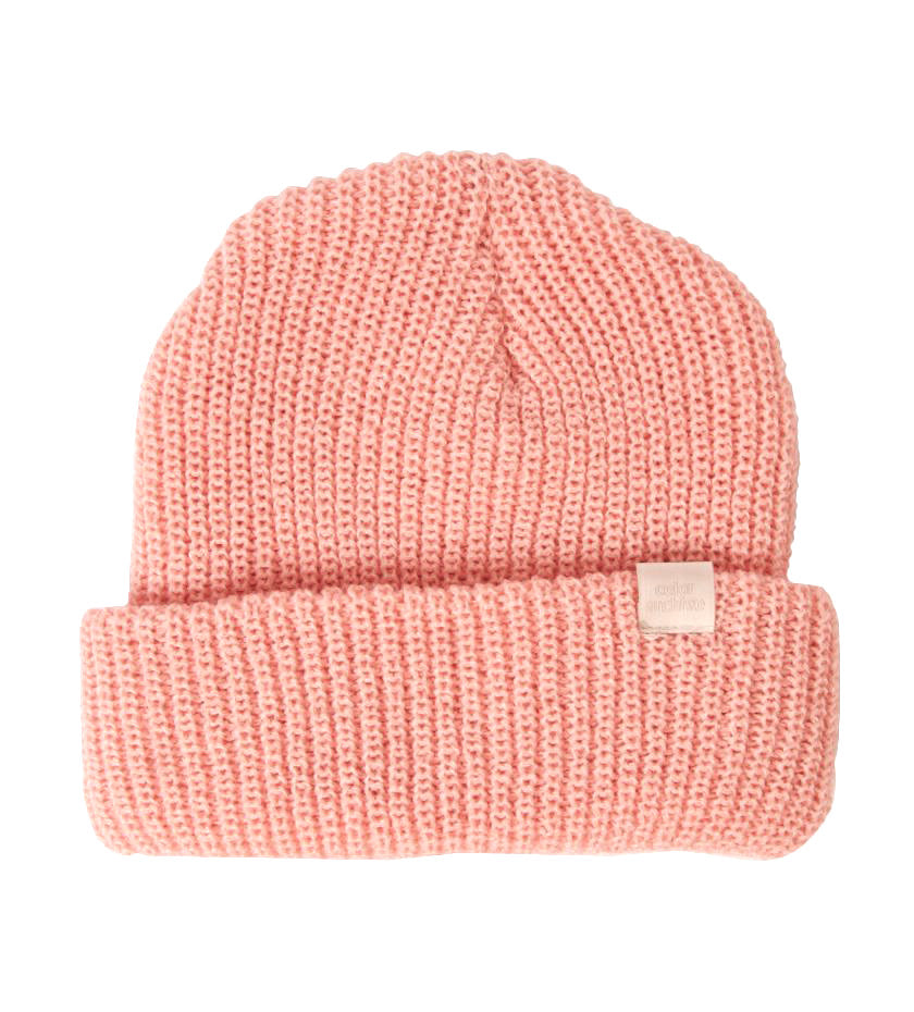 Color Archive Essential Beanie (Blush Pink)