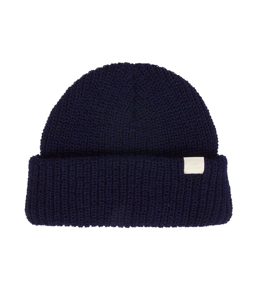 Color Archive Essential Beanie (Navy)