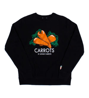 Carrots Crewneck (Black)
