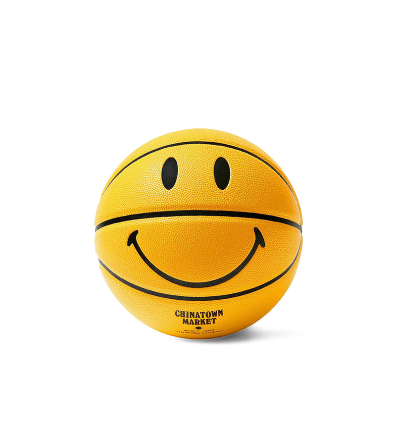 Smiley Mini Basketball (Yellow)