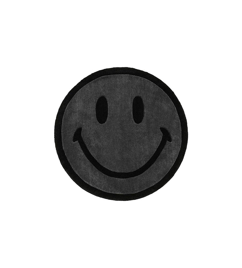 Smiley Rug (Black)