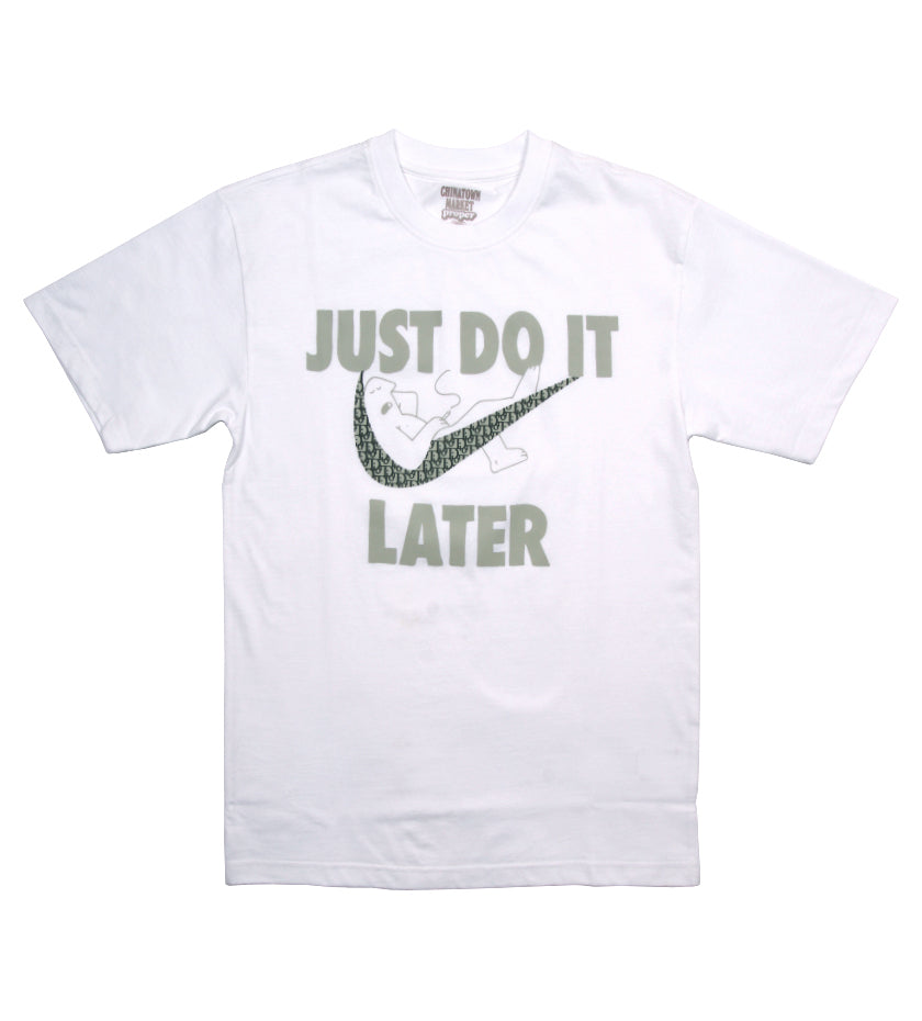Proper x Chinatown Market Just Do It Later Designer Tee (White)