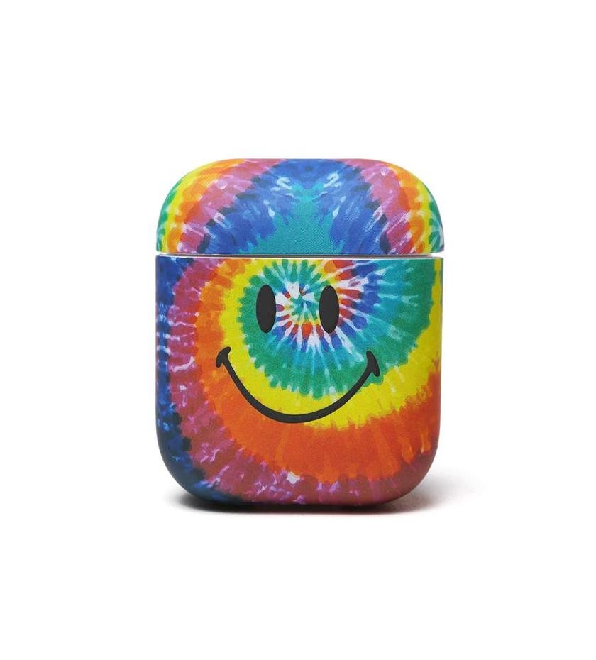 Smiley Tie Dye Airpods Case (Multi)