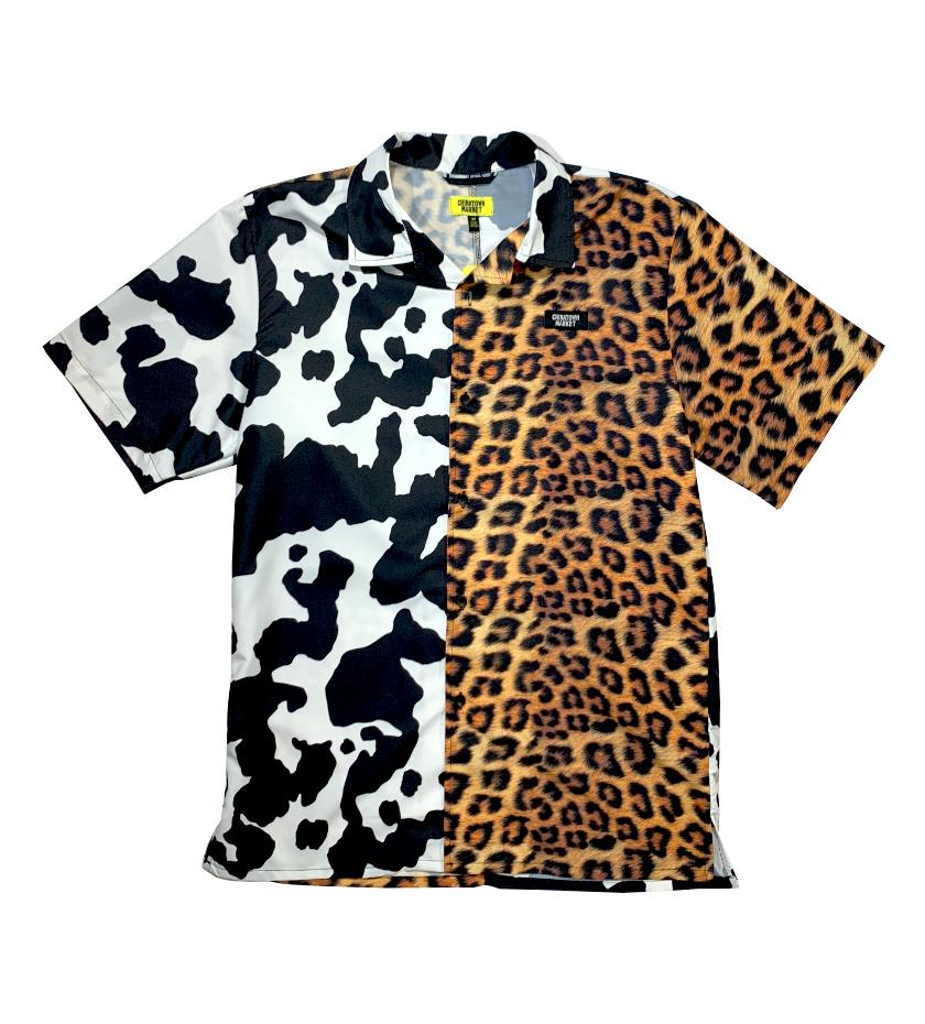 All Over Animal Print Woven (Multi)