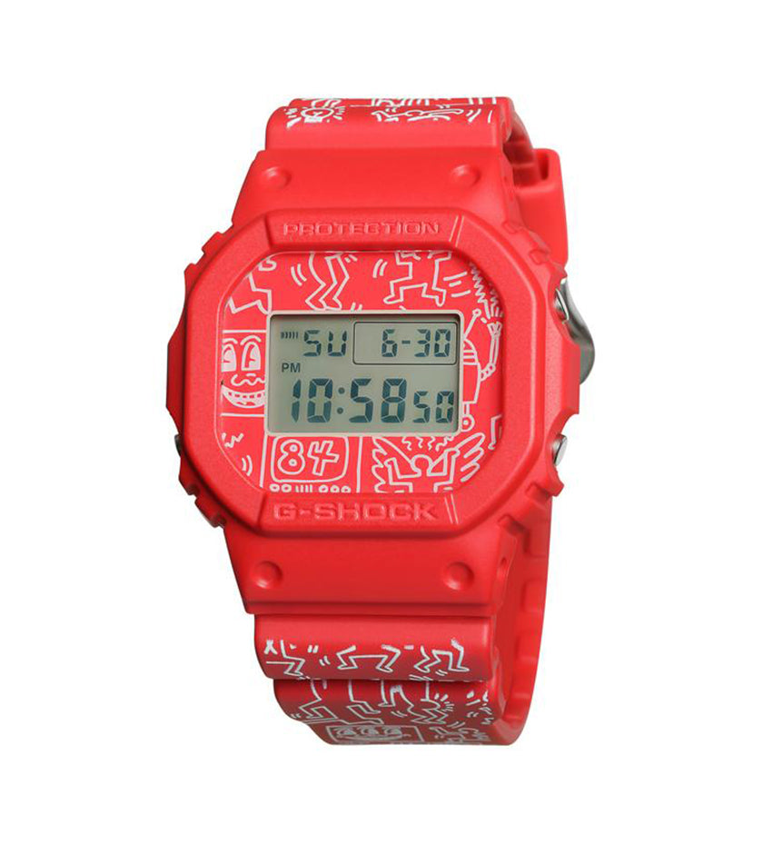Casio G-Shock x Keith Haring DW-5600 (Red)