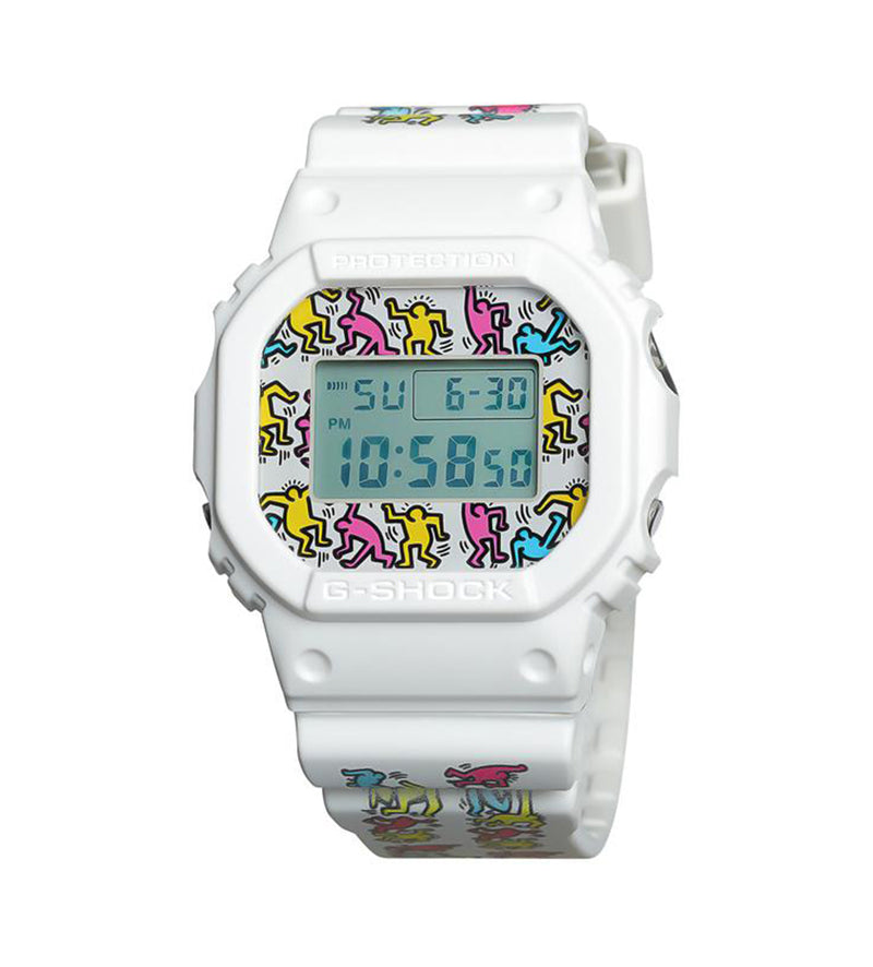 Casio G-Shock x Keith Haring DW-5600 (White)