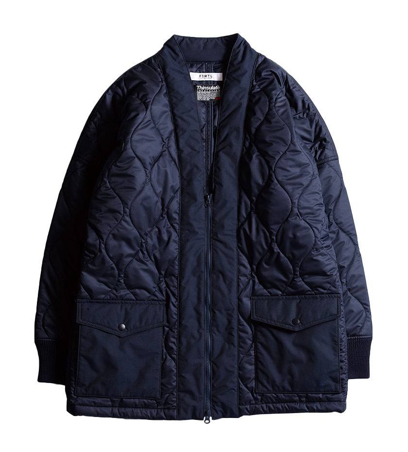 Quilted Haori Jacket (Navy)
