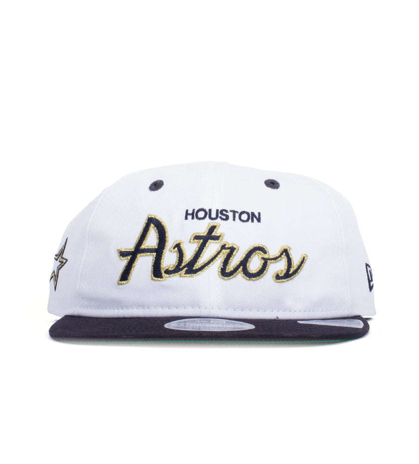 Houston Astros 9Fifty Retro Crown Snapback (White / Navy)
