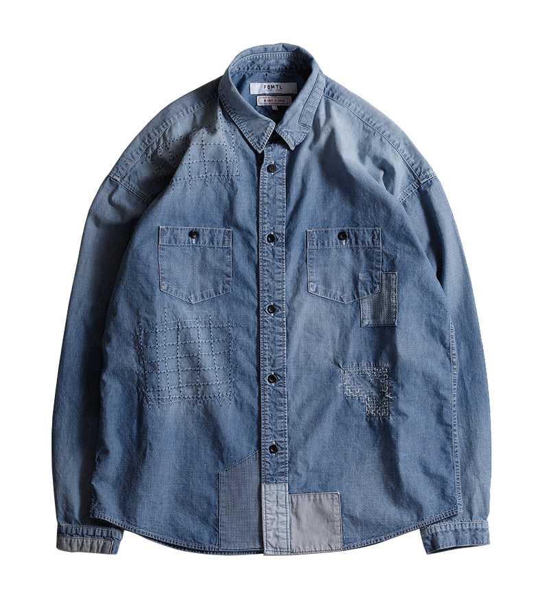 Denim Shirt 3-Year Wash (Indigo)