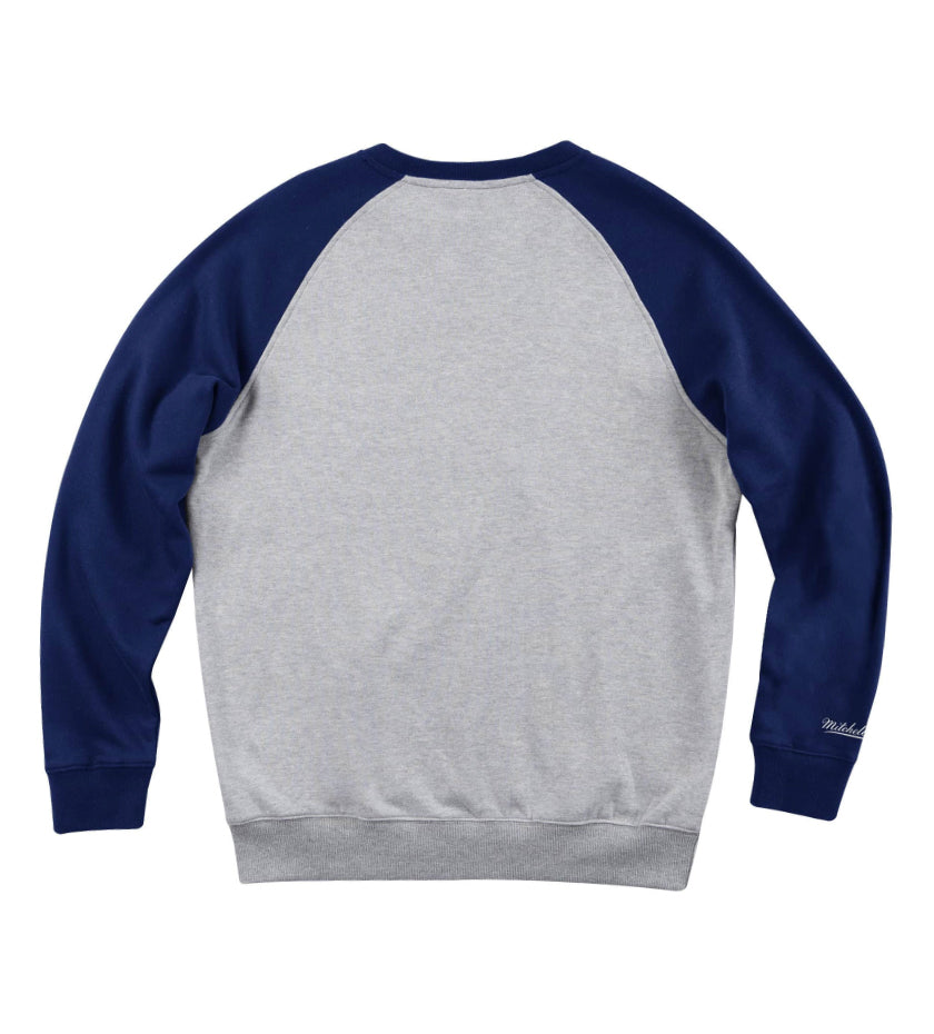 Houston Astros Turf Fleece Crewneck (Heather Grey)