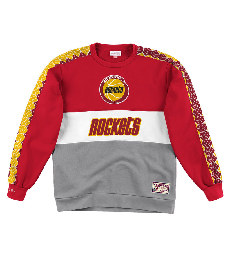 Leading Scorer Fleece Crew Houston Rockets (Scarlet Red)