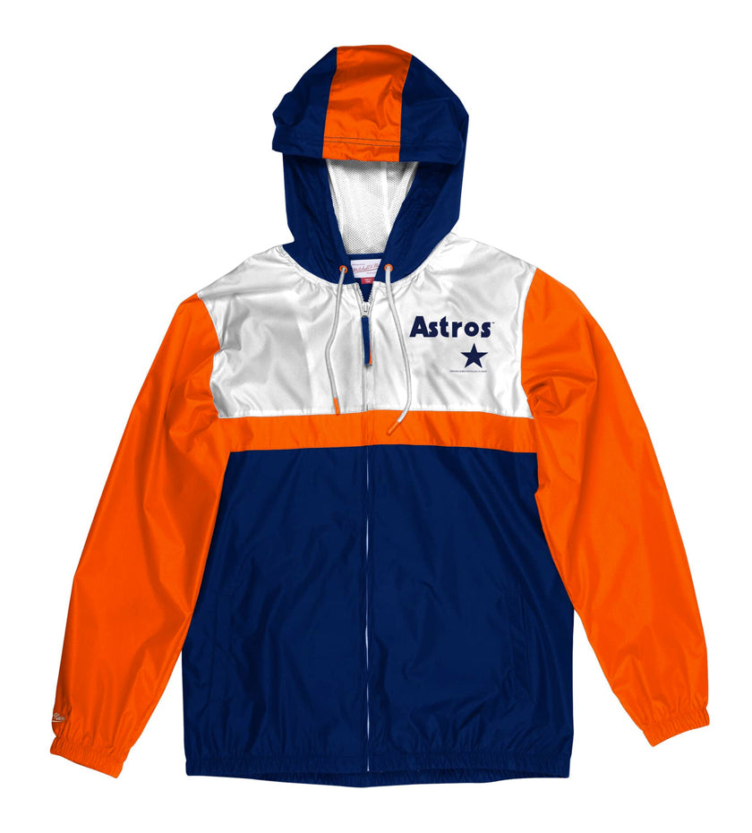 Houston Astros Margin Of Victory Windbreaker (Navy)