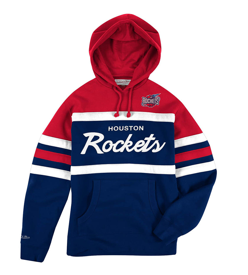 Houston Rockets Head Coach Hoodie (Navy / Red)