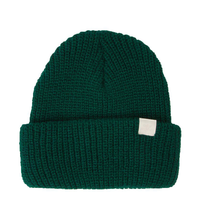 Color Archive Essential Beanie (Forest Green)