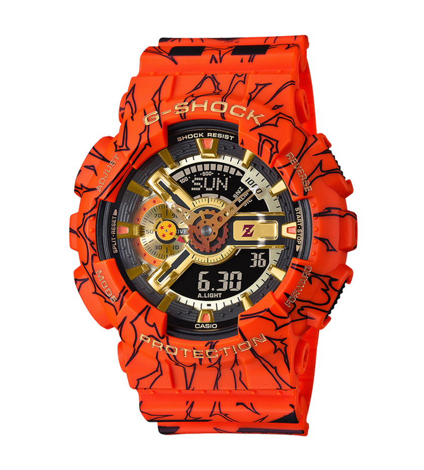 Dragon Ball Z X G-Shock GA110JDB-1AF