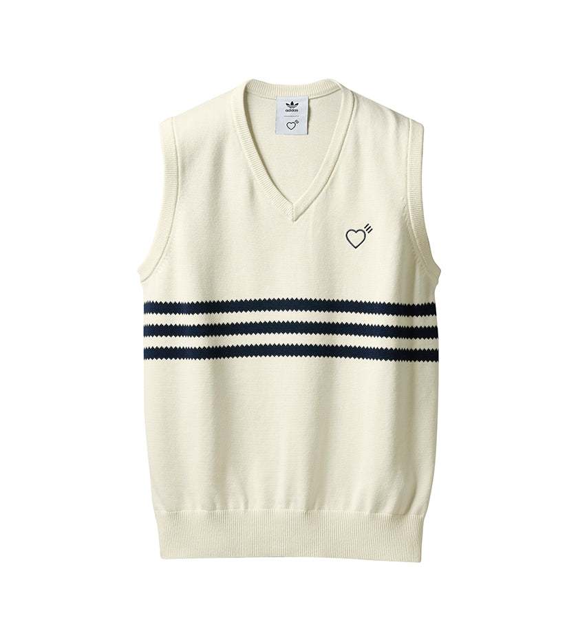 Human Made x adidas Knit Vest (Cream White)