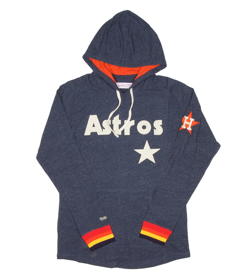 Astros MLB Hooded Longsleeve (Navy/Grey)