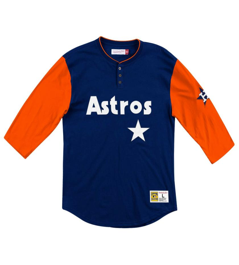 Houston Astros Franchise Player Henley (Navy)