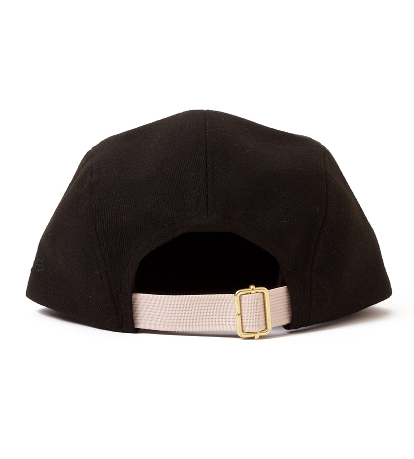 Proper x New Era 5-Panel Camper (Black)
