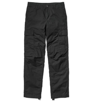 Regular Cargo Pant (Black Rinsed)