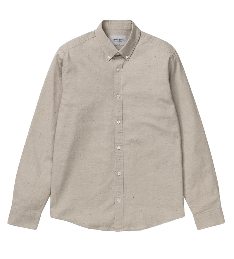 L/S Kyoto Shirt (Wall / Stone Washed)