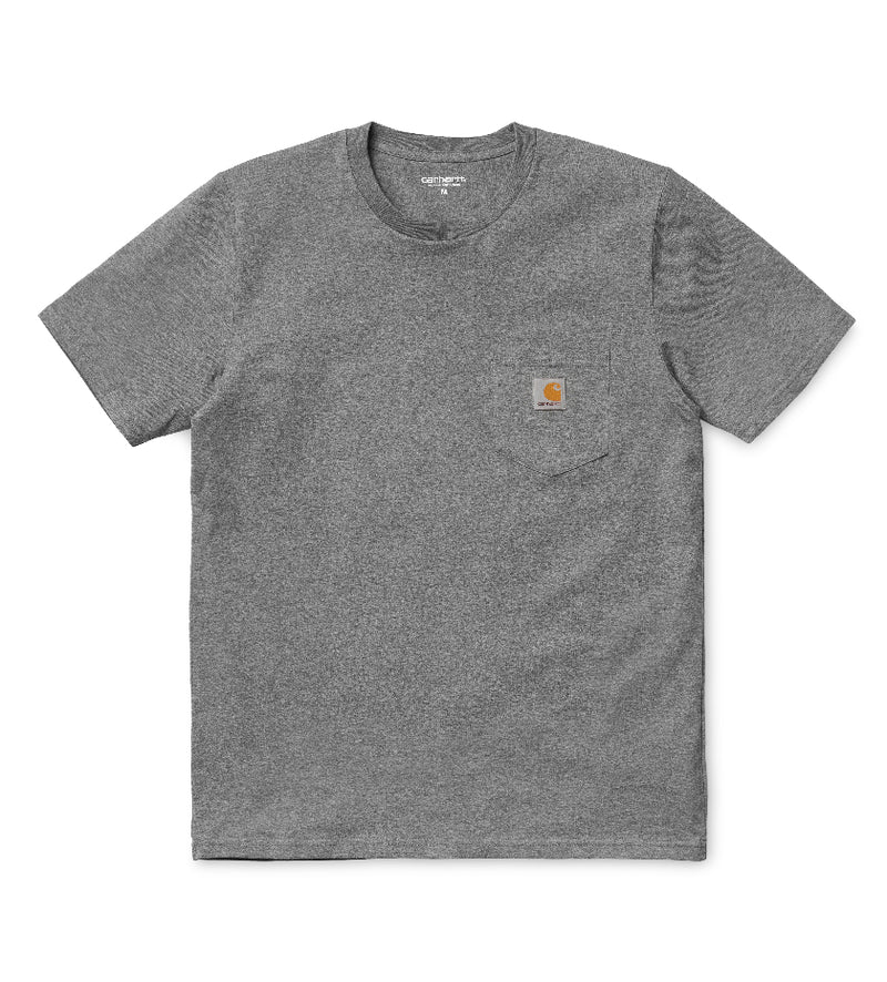Pocket T-Shirt (Dark Grey Heather)
