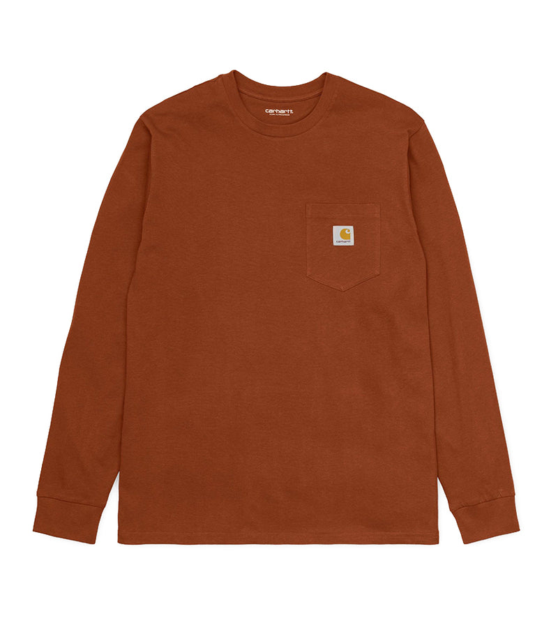 L/S Pocket T-Shirt (Brandy)