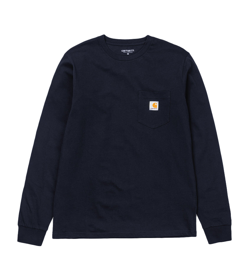 L/S Pocket T-Shirt (Dark Navy)