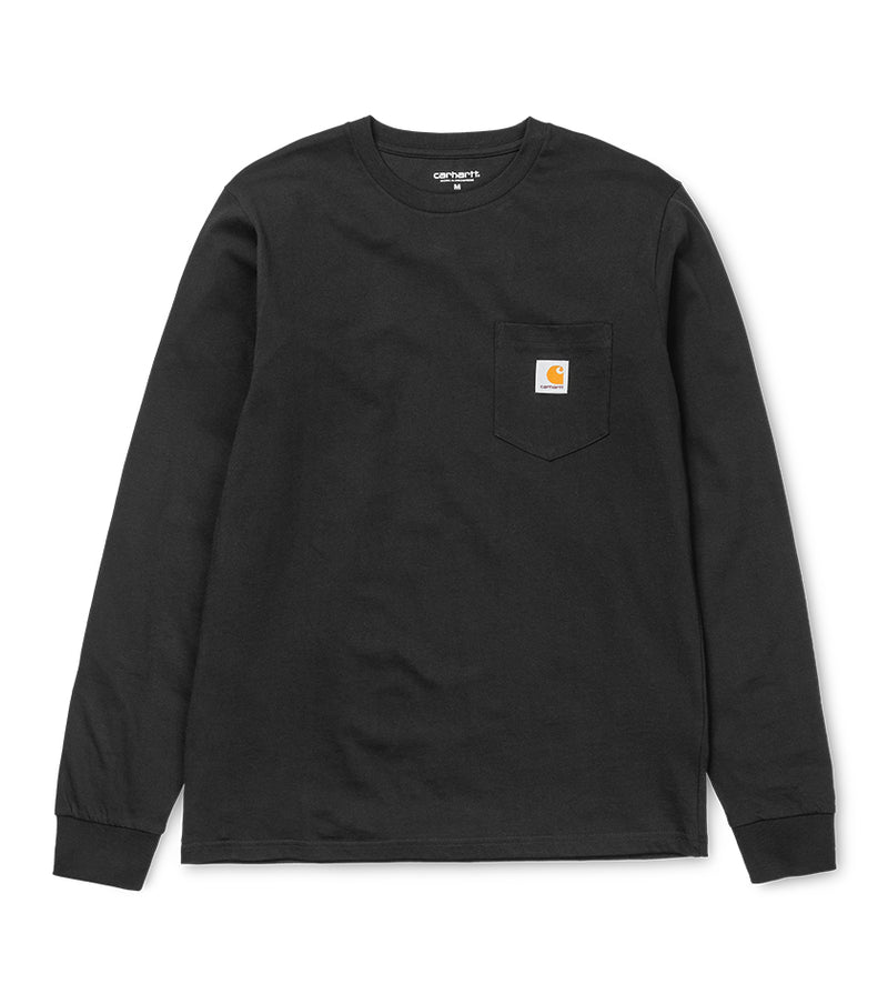 L/S Pocket T-Shirt (Black)