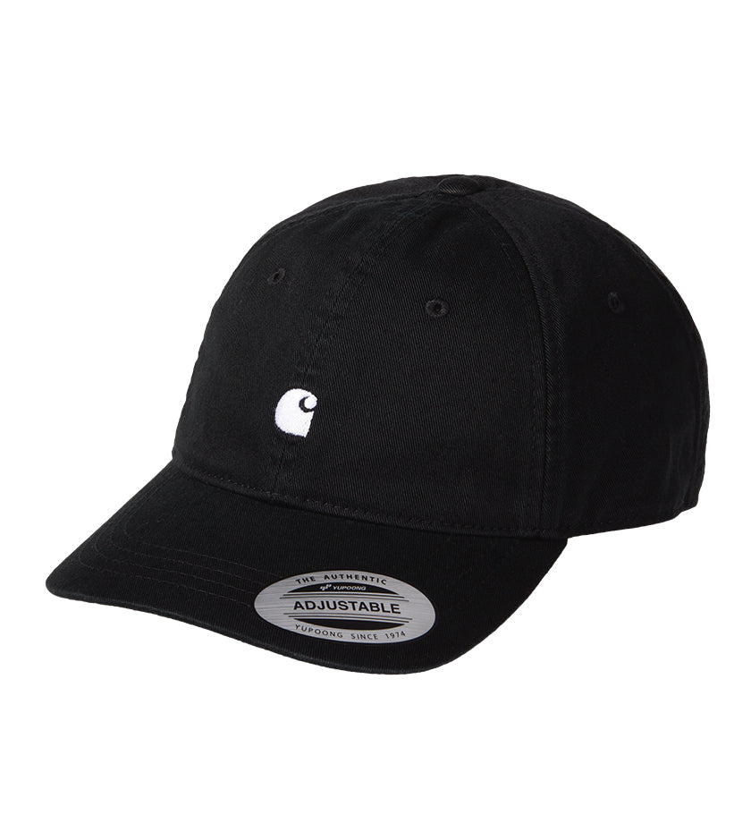 Madison Logo Cap (Black / White)