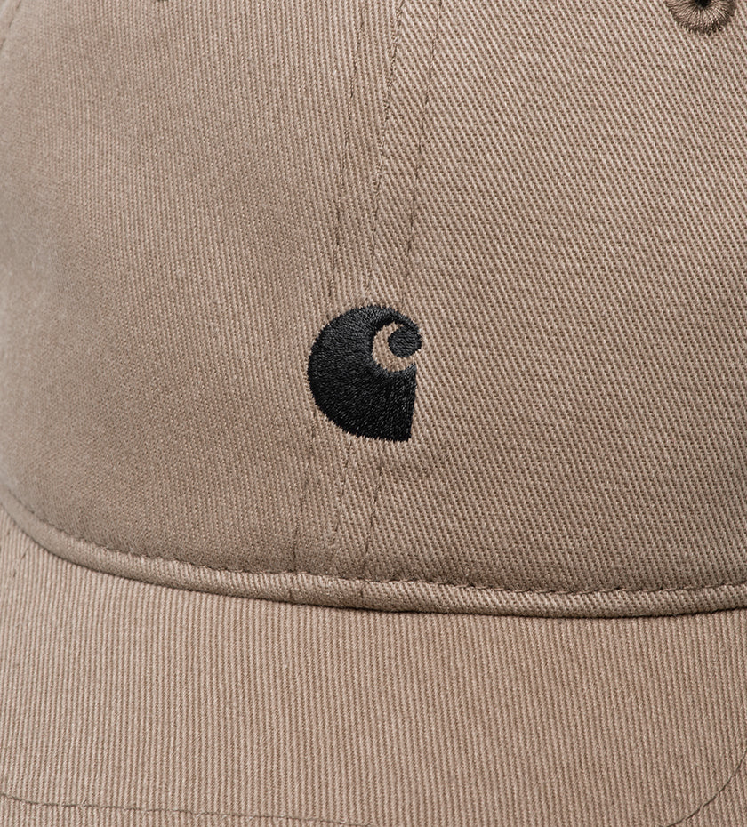 Madison Logo Cap (Leather / Black)
