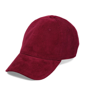 Manchester Cap (Mulberry/White)