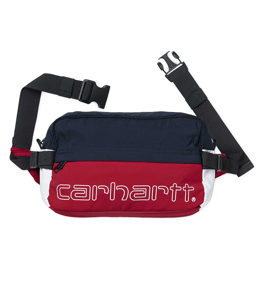 Terrace Hip Bag (Cardinal/Dark Navy/White)