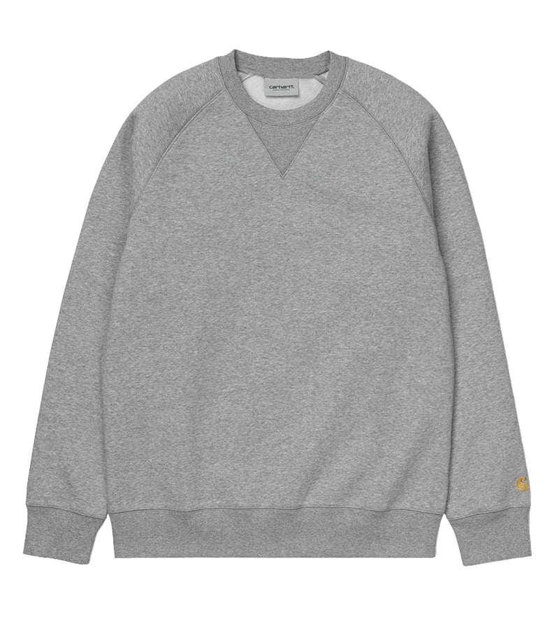 Chase Sweatshirt (Grey Heather / Gold)