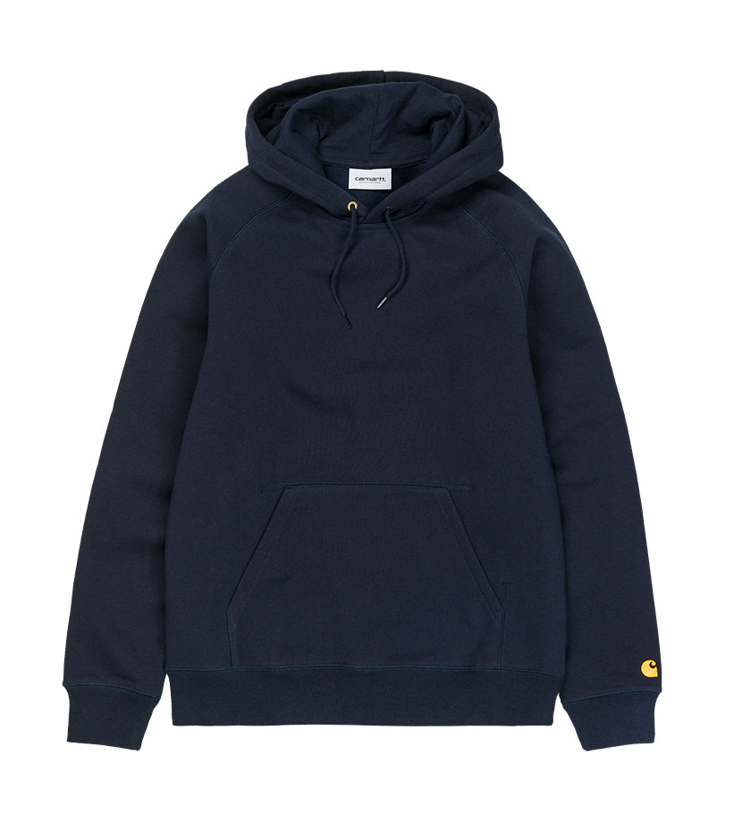 Hooded Chase Sweatshirt (Dark Navy / Gold)