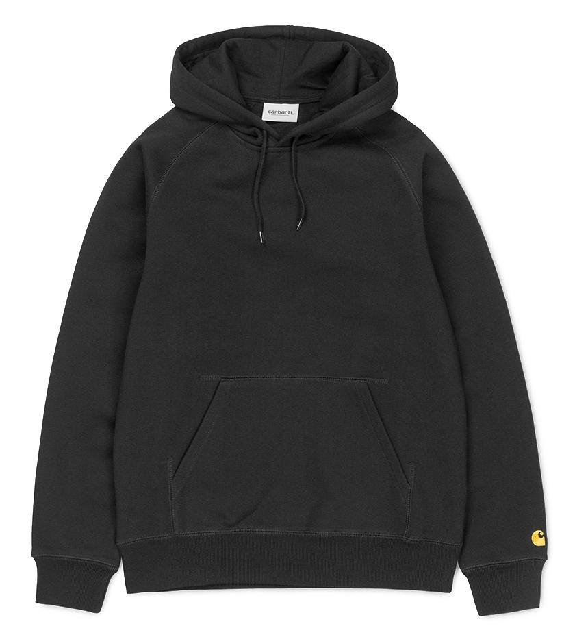 Hooded Chase Sweatshirt (Black / Gold)