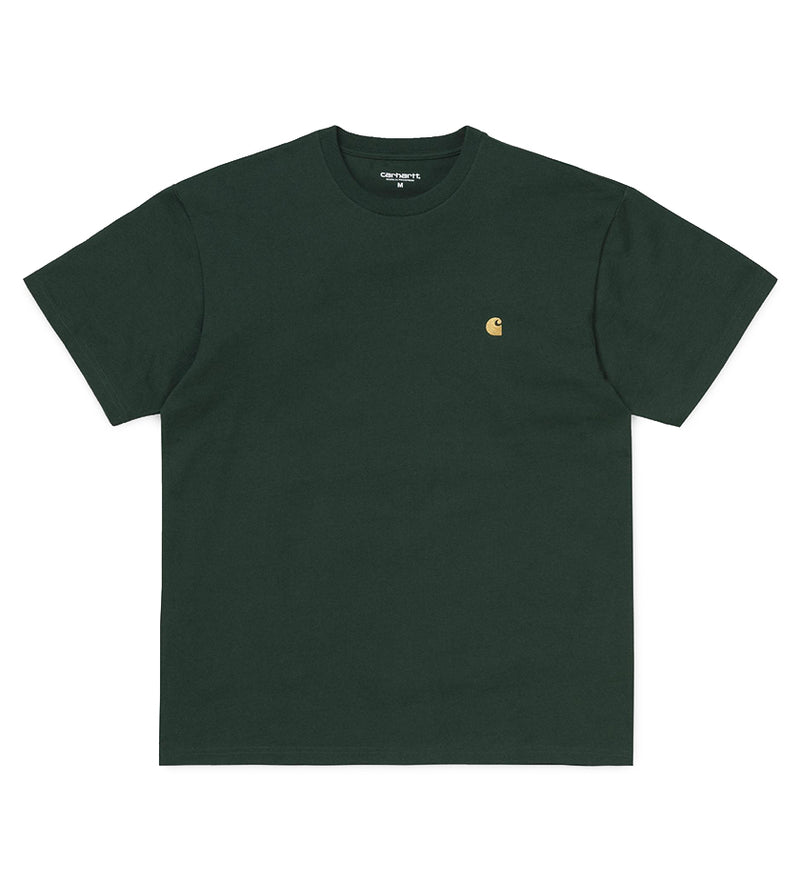 Chase T-Shirt (Bottle Green / Gold)