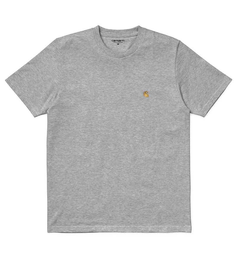 Chase T-Shirt (Grey Heather / Gold)