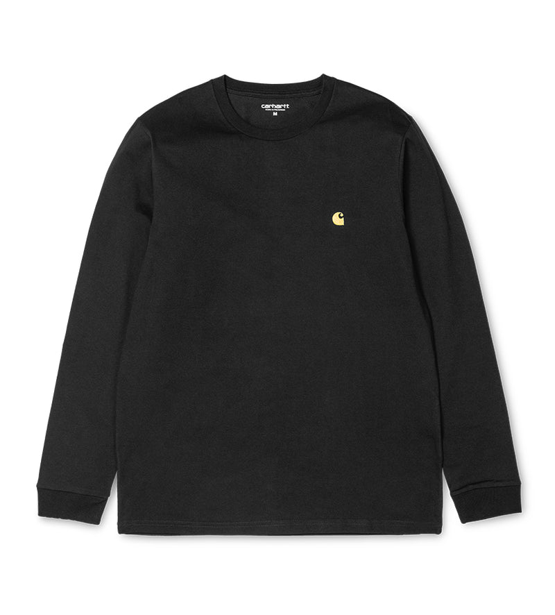 L/S Chase T-Shirt (Black / Gold)