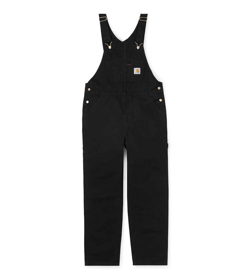 Bib Overall (Black Rinsed)