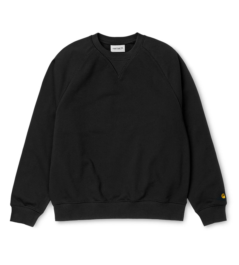 Women's Chasy Sweatshirt (Black / Gold)