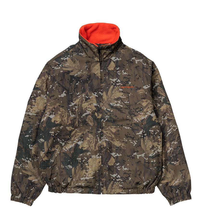 Denby Reversible Jacket (Camo Combi / Safety Orange)