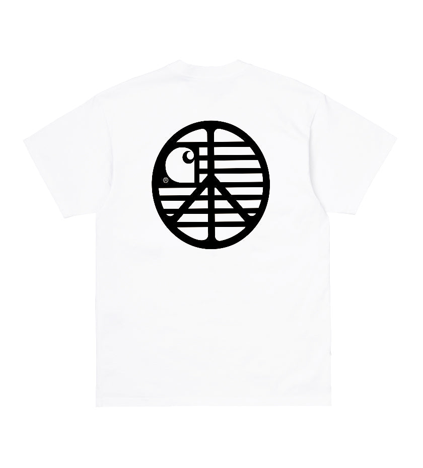 Peace State T-Shirt (White / Black)