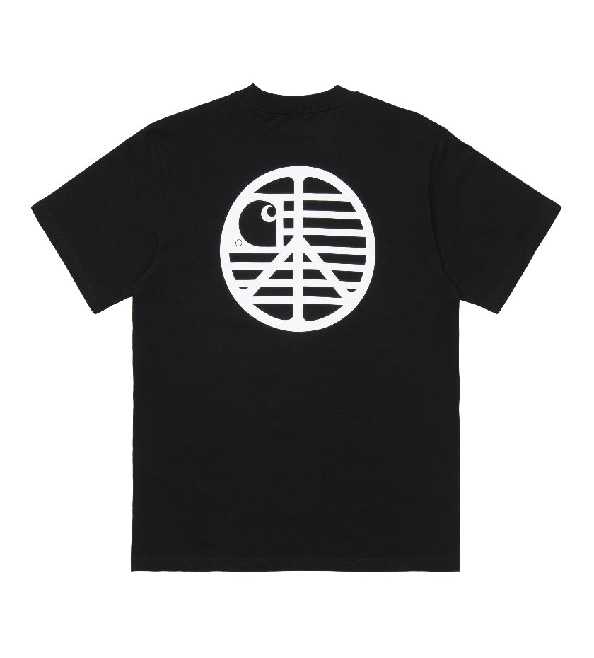 Peace State T-Shirt (Black / White)