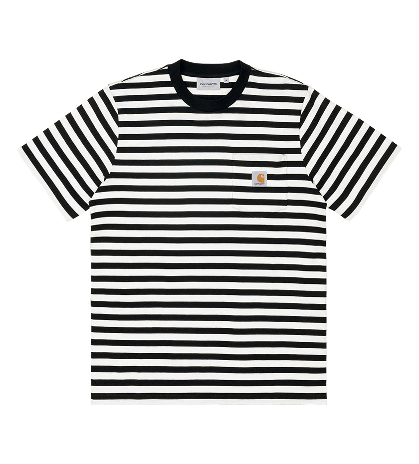 Scotty Pocket T-Shirt (Black / White)