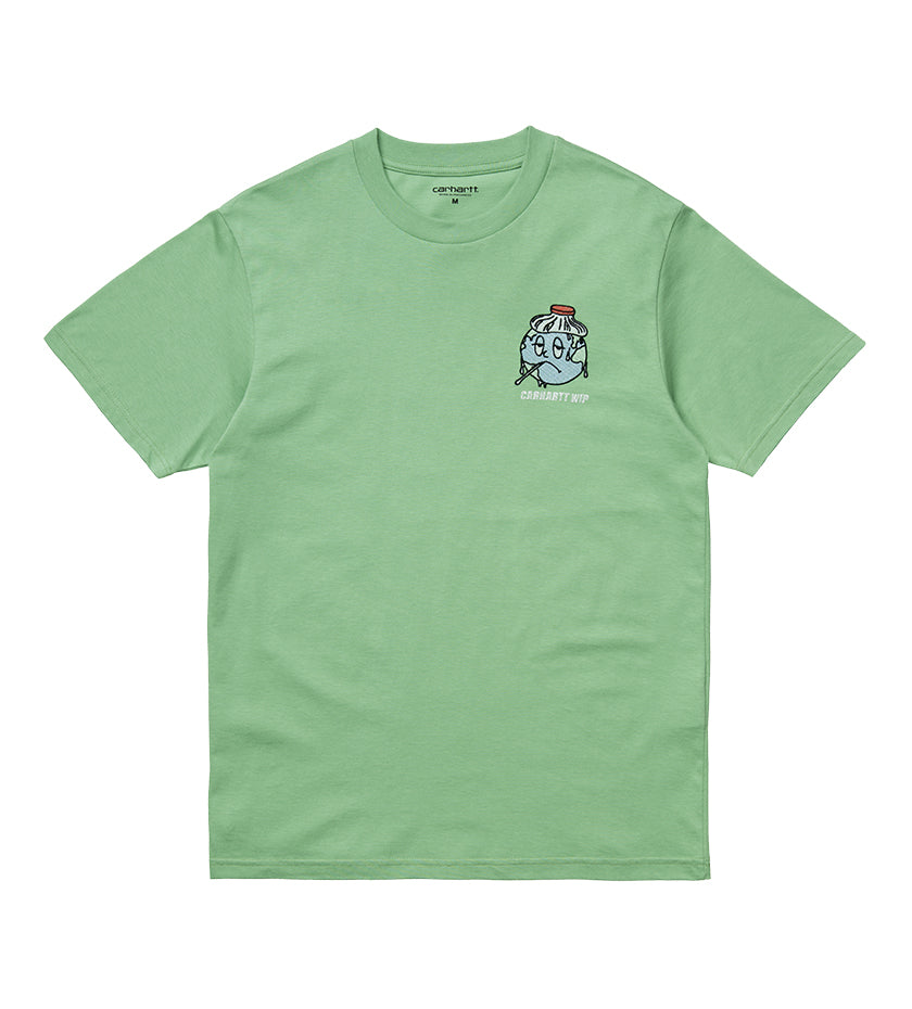 Ill World T-Shirt (Mineral Green)
