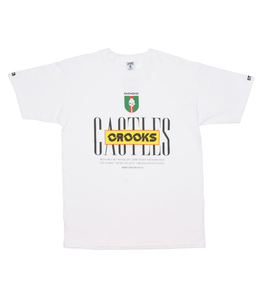 Disrupt Shield Tee (White)
