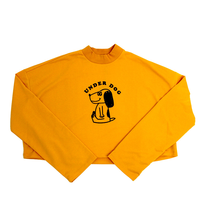 Underdog Long Sleeve Top (Yellow)